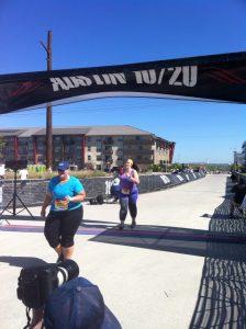 JMac finishes 10 miles!